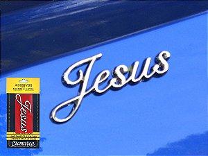 Adesivo Cromado JESUS