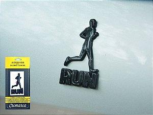 Adesivo PRETO - Run Man Corredor