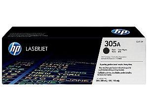 Toner HP LaserJet 305A Preto CE410A Original