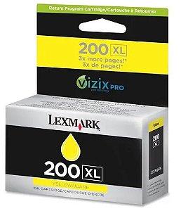 Cartucho de Tinta Lexmark Original 200XL 114L0177  Amarelo
