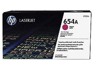 Cartucho de toner LaserJet magenta HP 654A original (CF333A)