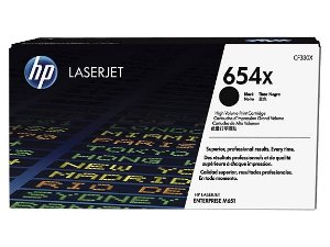 Cartucho de toner LaserJet preto de alto rendimento HP 654X original (CF330X/XC)