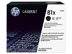 Toner HP LaserJet Original 81X Preto (CF281X/XC)