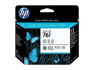 Cabeça Impressão HP 761 Cinza e Cinza Escuro - CH647A