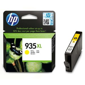 Cartucho HP 935XL amarelo C2P26AL HP 9,5ml