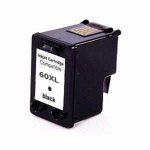 Cartucho de Tinta HP HP 60XL- Preto - CC640WB / CC641WL - Mecsupri