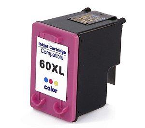 Cartucho de Tinta HP 60XL 60 - Colorido - CC644WB - Mecsupri