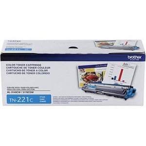 Cartucho de Toner Brother TN221C Ciano Original