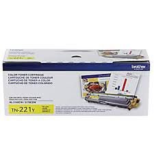Cartucho de Toner Brother TN221Y Amarelo Original