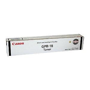 Toner Canon GPR18 Preto 0384B003AA Original