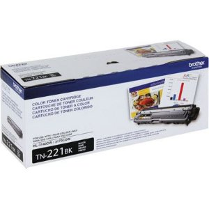 Cartucho de Toner Brother TN221BK Preto Original