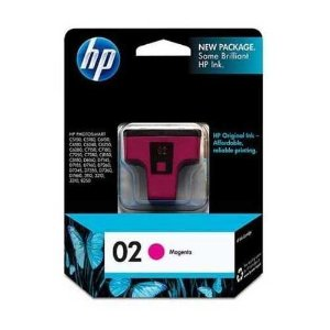 Cartucho HP 02 magenta 3,5ml C8772WL Original