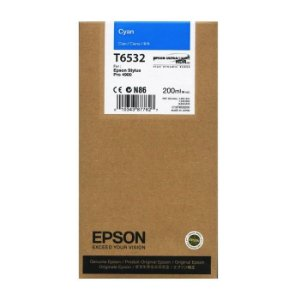 CARTUCHO EPSON T6532 CYAN P/ STYLUS PRO 4900
