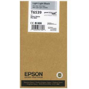 Cartucho Epson T6539 Light Light Black p/ Stylus Pro 4900