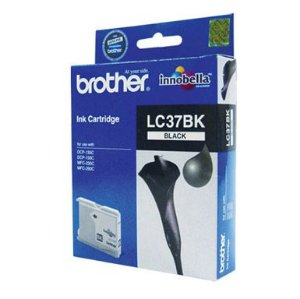 LC37BK - Original Brother cartucho de tinta black