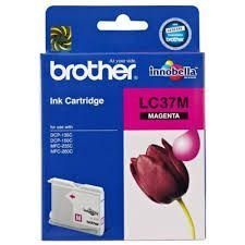 Cartucho de Tinta Brother LC37M Magenta  Original