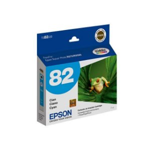 Cartucho de Tinta Epson 82 Epson 82N T082220 Ciano Original