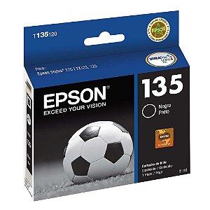 Cartucho de Tinta Epson 135 Preto T135120 Original