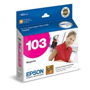 Cartucho de Tinta Epson 103 Magenta T103320 Original