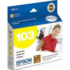 Cartucho de Tinta Epson 103 Yellow T103420 Original