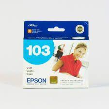 Cartucho de Tinta Epson 103 Cyan T103220 Original