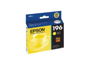 Cartucho p/stylus amarelo 196 T196420BR Epson CX 1 UN