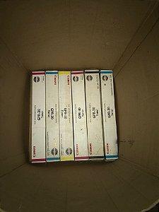Kit Com 6 Toners Lacrados - Canon GPR-30 Original
