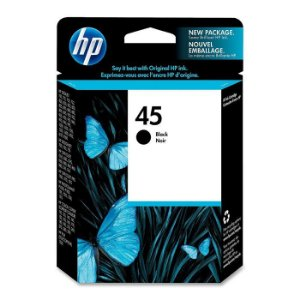 Cartucho HP 45 preto 51645AL HP CX 1 UN  42ML