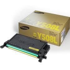 Toner Samsung CLT Y508L Yellow Original