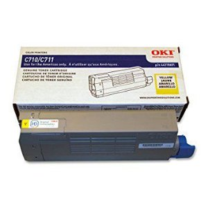 TONER OKIDATA ORIGINAL C710/C711 44318601- (YELLOW)