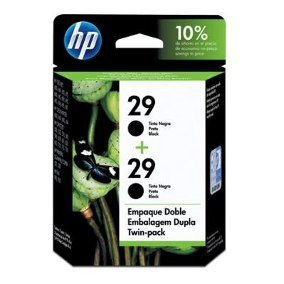CARTUCHO HP 29 ORIGINAL C6648FL (2x51629A) twin pack