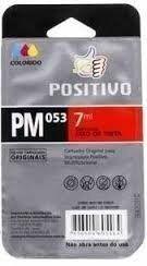 Cartucho Positivo PM053 Colorido 7ml Original