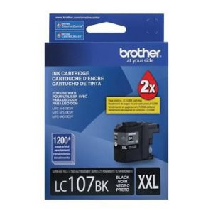Cartucho de Tinta Brother LC107BK XXL Preto