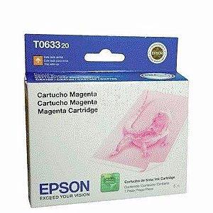 Cartucho de Tinta Epson T063 T063320 Magenta Original