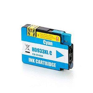 Compativel: Cartucho de Tinta HP 933XL Ciano CN054AL Mecsupri