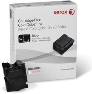Cera Preta 8870/8880 Xerox - 108R00961 Caixa c/ 6 unidades Original