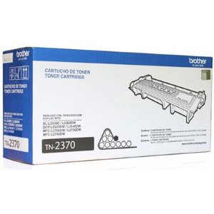 Cartucho de Toner Brother Preto TN2370 Original