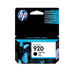 Cartucho HP 920 Preto Original (CD971AL) Para HP Officejet 7500A, 6000dwn, 6500A CX 1 UN
