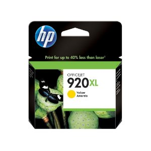 Cartucho HP 920XL Amarelo Original (CD974AL) Para HP Officejet 7500A, 6000dwn, 6500A CX 1 UN