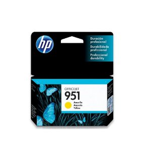 Cartucho HP 951 Amarelo Original (CN052AB) Para HP Officejet Pro 8600, 8600 Plus, 8610, 8620, 276dw, 8100, 251dw CX 1 UN