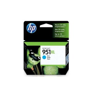Cartucho HP 951XL Cian Original (CN046AB) Para HP Officejet Pro 8600, 8600 Plus, 8610, 8620, 276dw, 8100, 251dw CX 1 UN