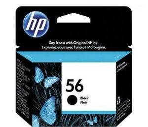 Cartucho HP 56 preto 19,5ml C6656AB HP CX 1 UN