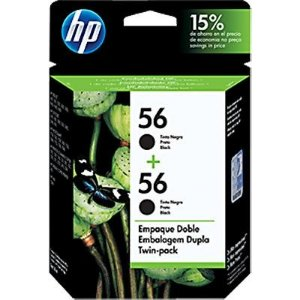 Cartucho HP 56 Preto TWIN PACK C9319FL ou (2xc6656) Original
