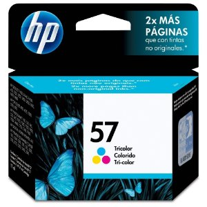 Cartucho HP 57 17ml Tricolor Original C6657AB