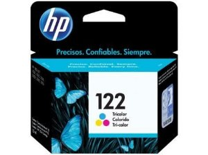 Cartucho de Tinta HP 122 Colorido CH562HB