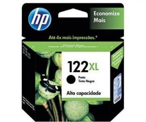 Cartucho HP 122XL Preto - CH563 - 8ml