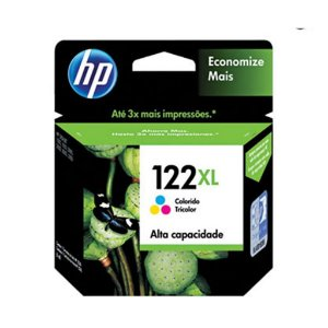 Cartucho HP CH564hb 122XL tricolor 7,5 ml
