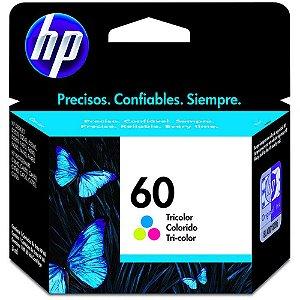 Cartucho de Tinta HP 60 Tricolor CC643WB Original