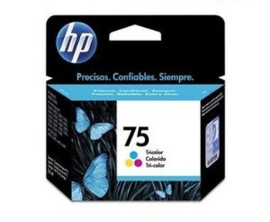 Cartucho HP 75 color CB337WB HP CX 1 UN
