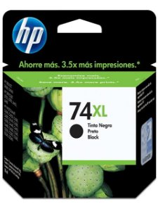 Cartucho de Tinta Preto 74XL CB336WL 18ml - HP